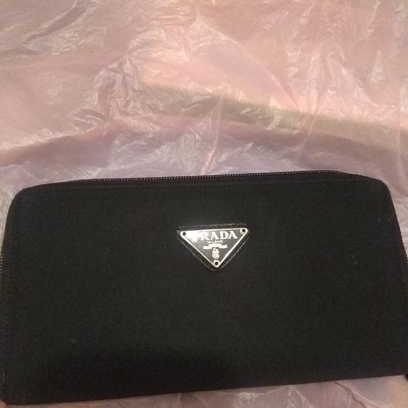 2e8faf0633d Prada Bags | Vintage Black Wallet | Poshmark
